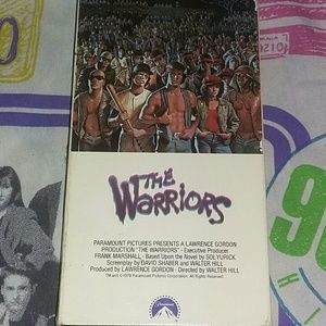 1990 The Warriors VHS Movie 80s Vintage Tape